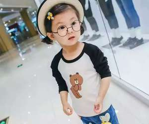 chinese, fashion, and kid image
