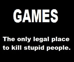 games, kill, and funny image