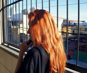 ginger, red, and redhair image