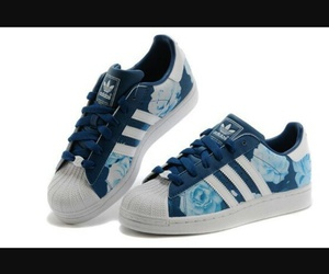 adidas originals, azul, and blue image
