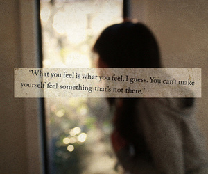 quote, feelings, and photography image