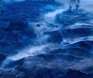 <3, blue, and fog image