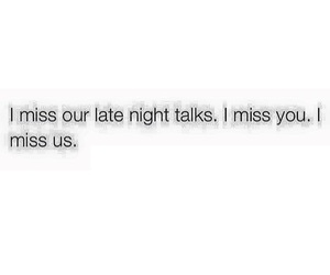 i miss you, late night talks, and miss image