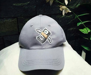 cap, grey, and hat image