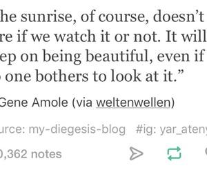 beautiful, quotes, and sunrise image