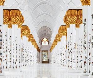 abu dhabi, architecture, and islam image