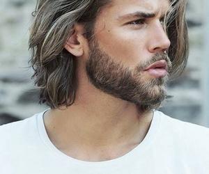 beard, boy, and hair image