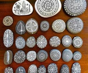 art, stone, and rock image