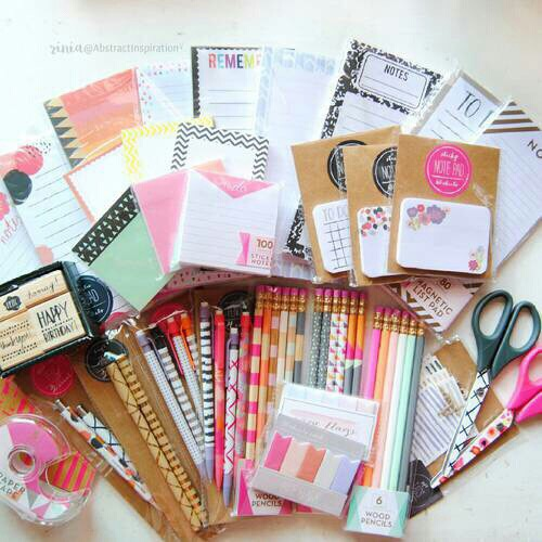 school, study, and supplies image