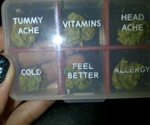 weed, vitamin, and marijuana image
