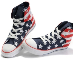 all star, america, and sneaker image