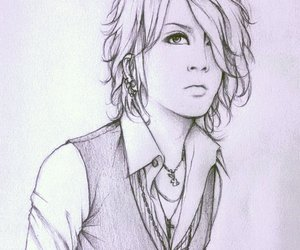 drawing, fanart, and jrock image