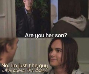 pretty little liars, funny, and caleb image