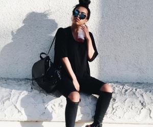 fashion and black image