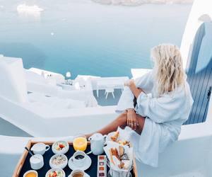 food, travel, and Greece image