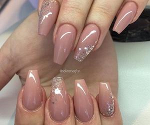 acrylics, nail polish, and nails image