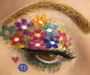 colours, make-up, and photography image