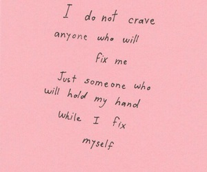 quotes, pink, and fix image