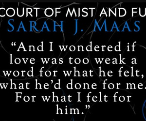 books, high lord, and sarah j.maas image