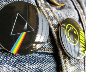 badges, beautiful, and jeans image