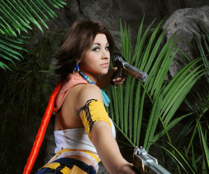 cosplay, ffx2, and final fantasy image