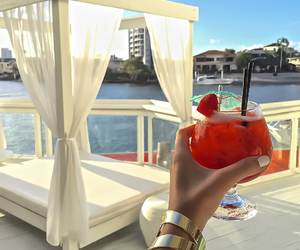drink, luxury, and summer image