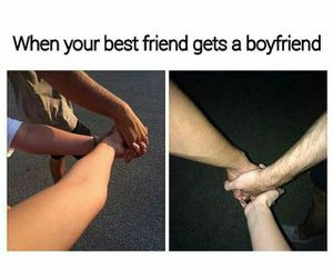 bff, boyfriend, and funny image
