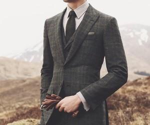 black, gentleman, and man image