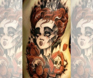 alice in wonderland, alternative, and body modifications image
