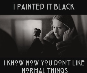 black rose, tate, and murder house image