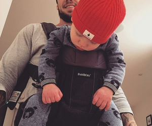 baby, baby boy, and daddy image