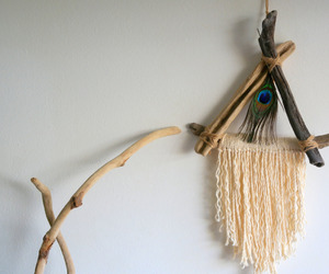 etsy, wall decor, and woven wall hanging image