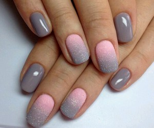 look, nails, and manicure image