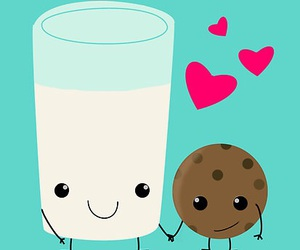 milk and cookie image