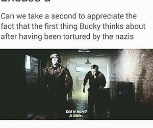 bucky, captain america, and steve rogers image