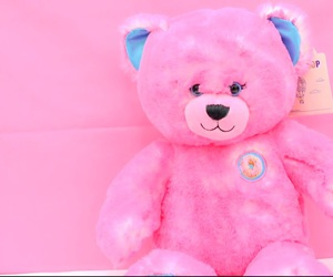 bear, pink, and kawaii image