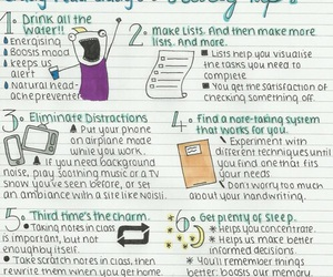 study, school, and study tips image
