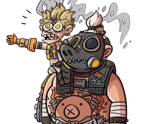 kawaii, roadhog, and trystan image