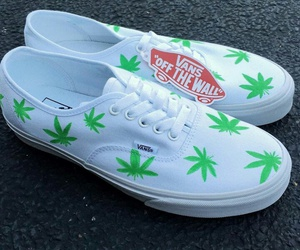 summer, vans, and weed image