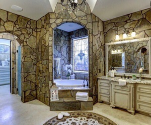 bathroom, decor, and inspiration image