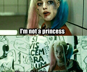 harley quinn, Queen, and suicide squad image
