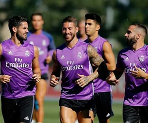 real madrid, isco, and sergio ramos image