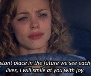 the notebook, quotes, and sad image