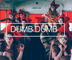 dumb and red velvet image