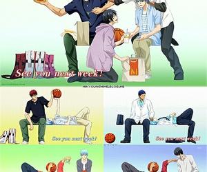 kuroko no basket, kuroko tetsuya, and kagami taiga image