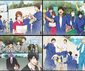 anime, sport anime, and manga image