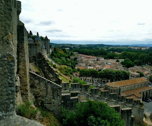 carcassonne, chateau, and medievale image