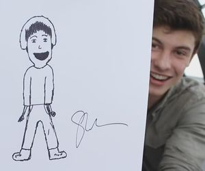 shawn mendes and draw image