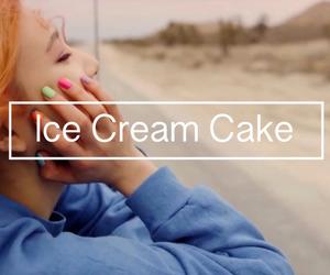 asian, ice cream cake, and joy image