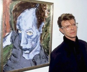 art, music, and david bowie image